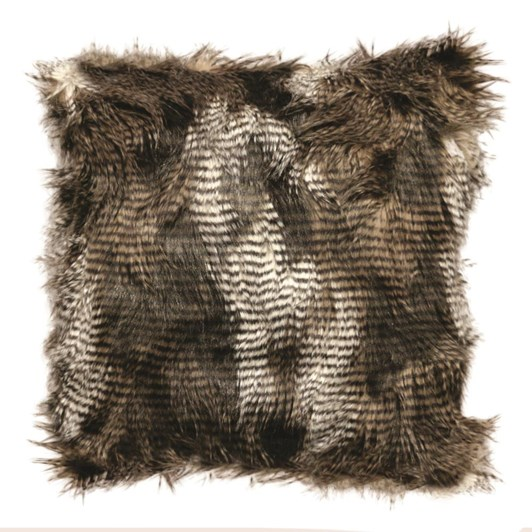 CC Interiors Luxury Mink Kiwi Style Faux Fur Cushion
