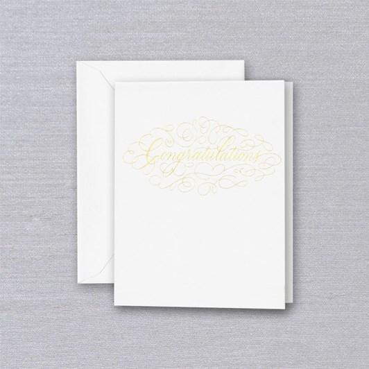 Crane & Co Congratulations, Single Card