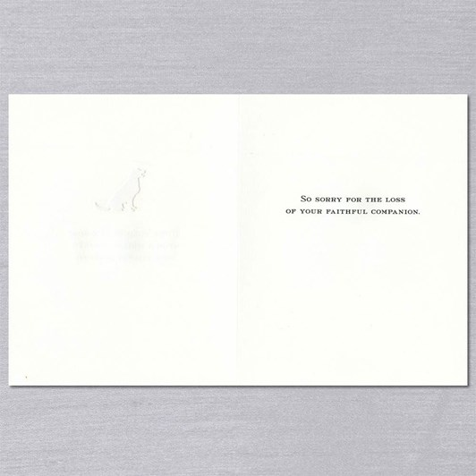 Crane & Co They Walk By Our Side, Single Card
