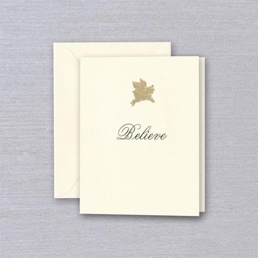 Crane & Co Believe, Single Card