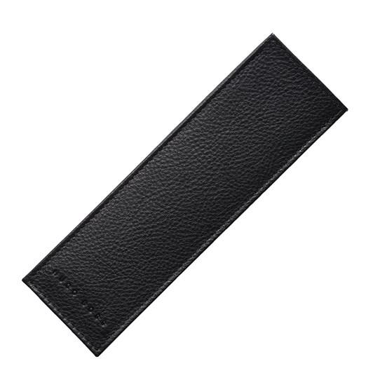 Hugo Boss Storyline Pen Case in Black Grained Leather