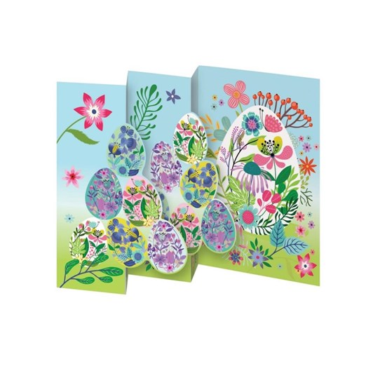 Egg Pile Trifold Easter Card