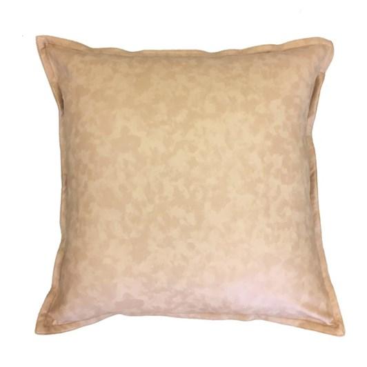 Madras Link Boston Leather Look Cushion Nude 50cm