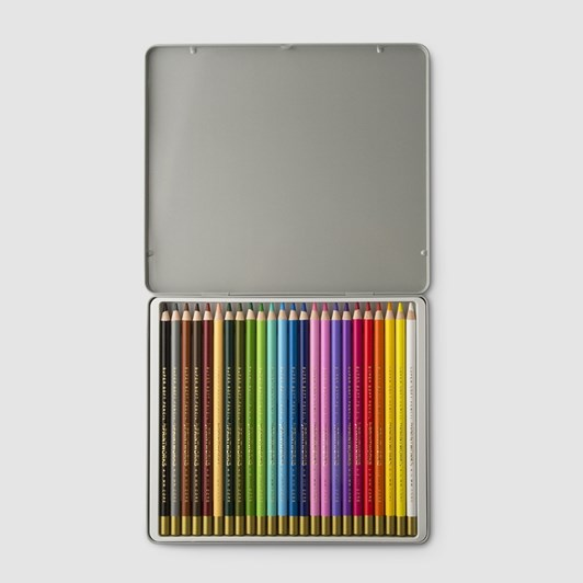 Printworks Coloured Pencils Tin Of 24