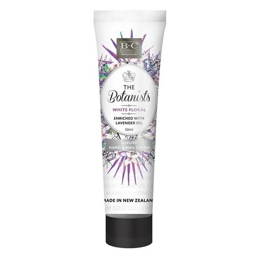 Banks & Co White Floral Hand & Nail Cream - 50ml