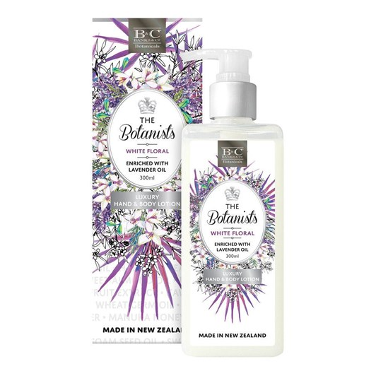 Banks & Co White Floral Luxury Lotion - 300ml