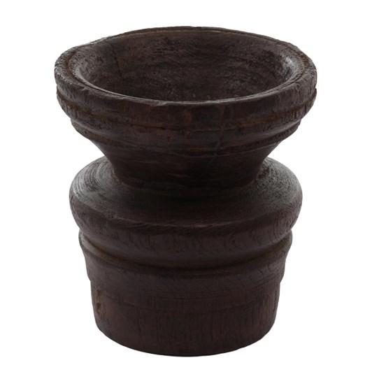 CC Interiors Ancient Wooden Candle Stand Medium