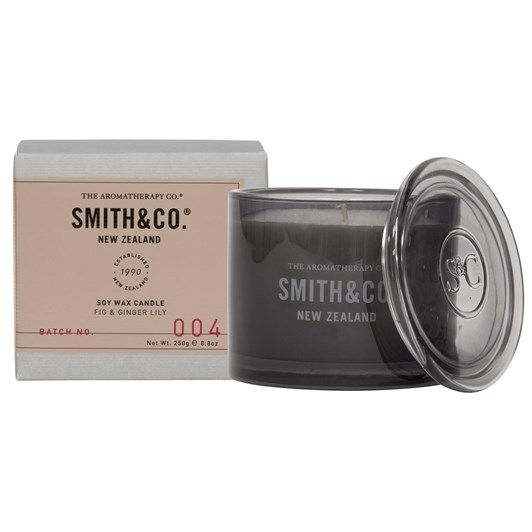 Smith & Co Fig & Ginger Lily Candle 250g
