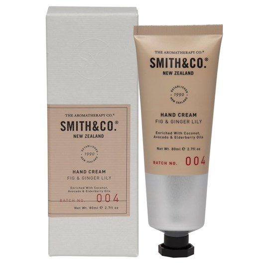 Smith & Co Fig & Ginger Lily Hand Cream 80ml