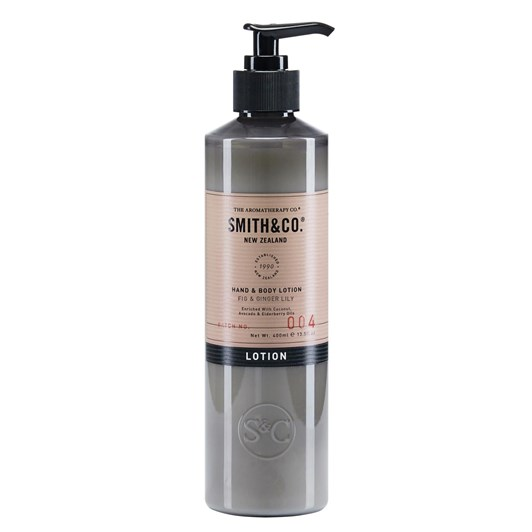 Smith & Co Fig & Ginger Lily Hand & Body Lotion 400ml