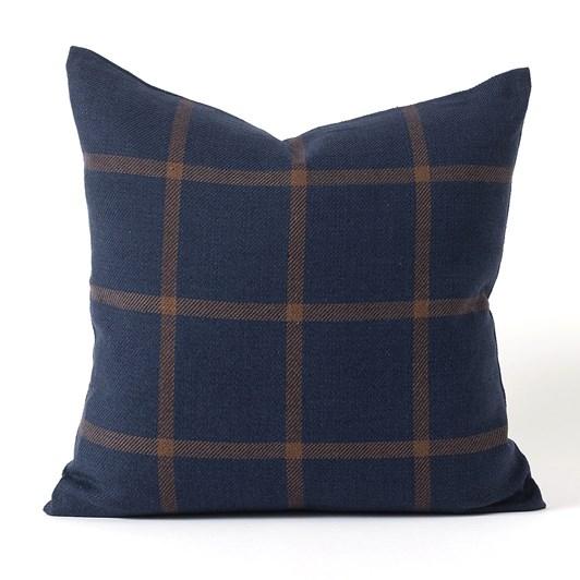 Citta Bento Woven Cushion Cover Midnight/Chocolate 50x50cm