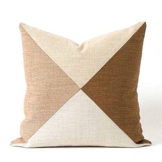 Citta Origami Patchwork Cushion Cover Multi 55x55cm