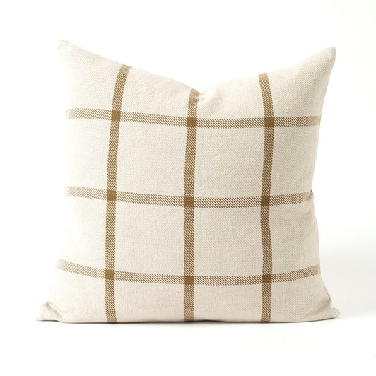 Citta Bento Woven Cushion Cover Natural/Bronze 50x50cm