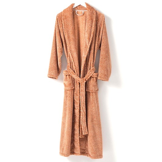 Citta Halo Women's Nap Dressing Gown Toffee S