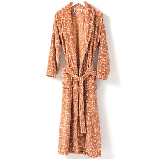 Citta Halo Women's Nap Dressing Gown Toffee M