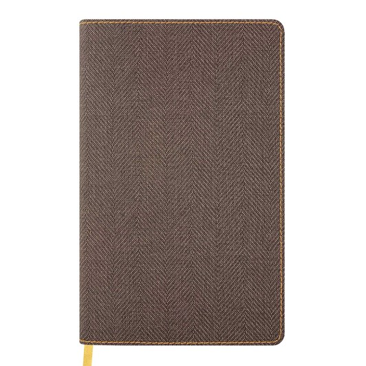 Castelli Diary A5 Weekly + Notes Harris Tobacco Brown