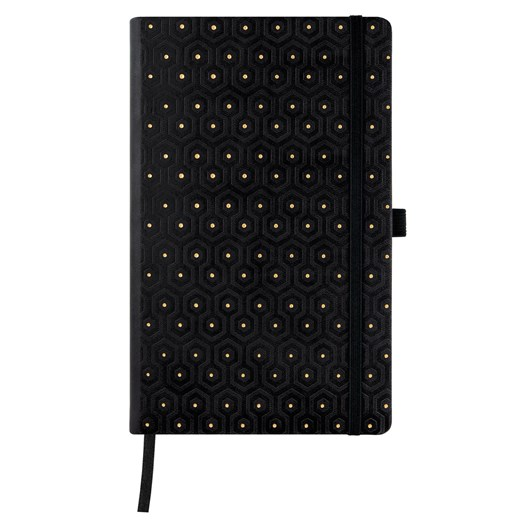 Castelli Diary A5 Weekly + Notes Copper And Gold Honey Gold