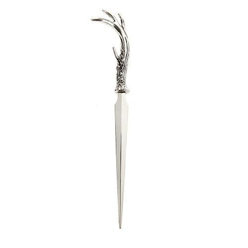 Orchid Letter Opener With Antlers