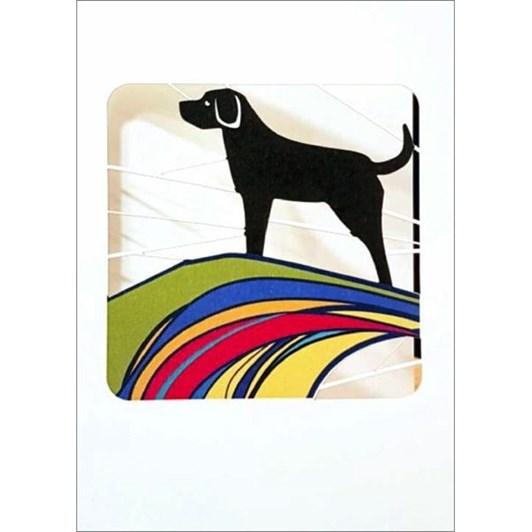 Vevoke Card Black Labrador
