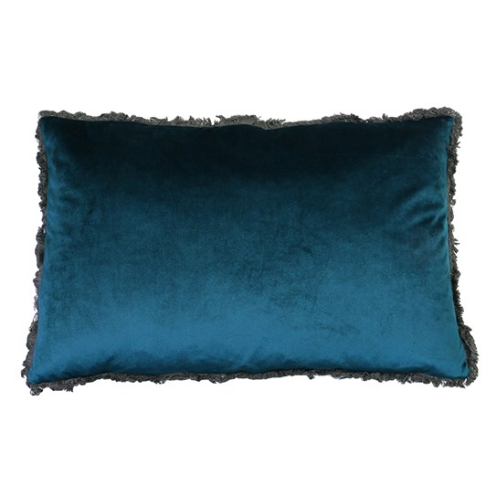 Velvet Fringed Cushion 40x60cm