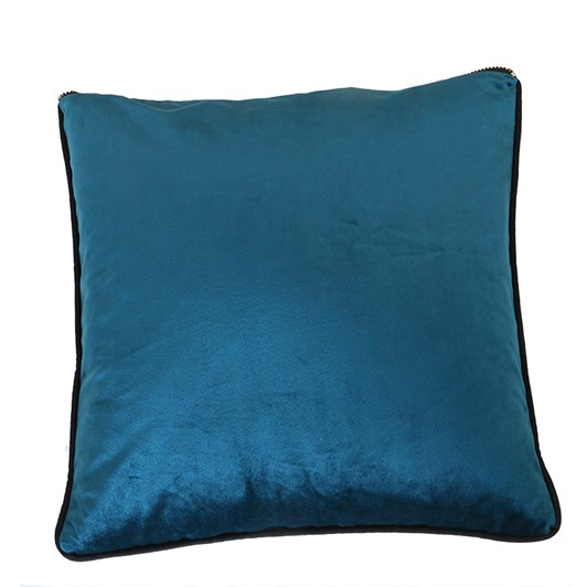 Velvet Piped Cushion 45x45cm