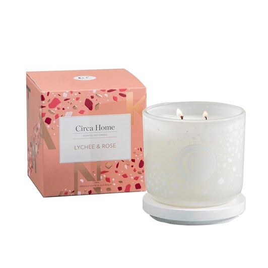 Circa Home Lychee & Rose Classic Candle 260g