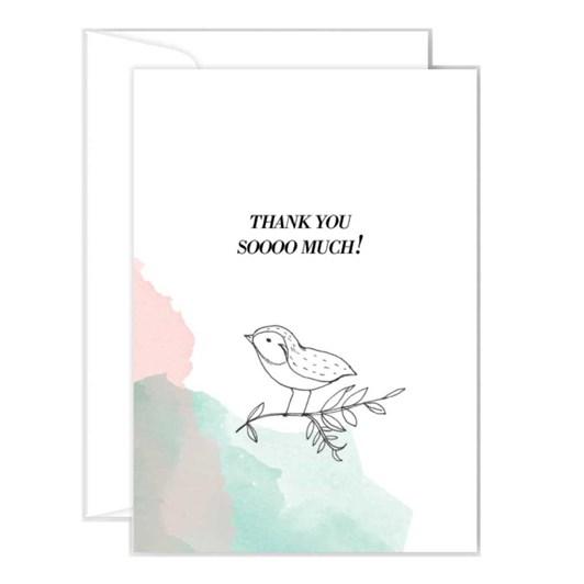 Poppy Card - Thank You Soooo Much
