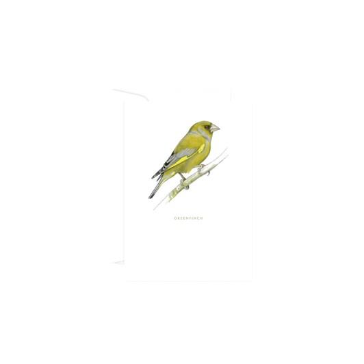 Poppy Card - Greenfinch