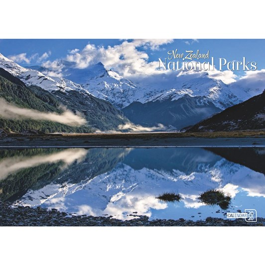Spirit Range: NZ National Parks Calendar 2020 318x225mm