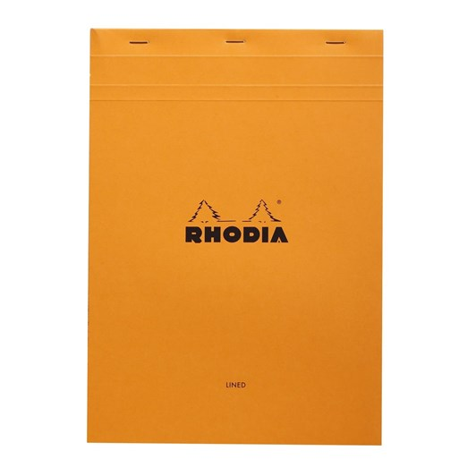 Bloc Rhodia A4 Lined & Margined