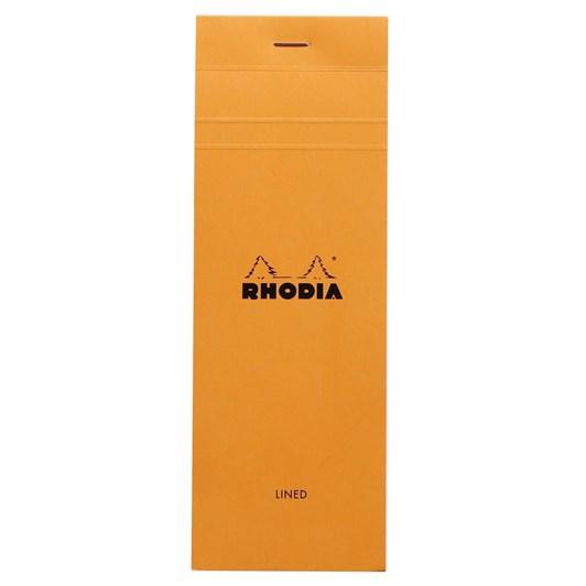 Bloc Rhodia Shopping Pad 7.4x21cm Lined