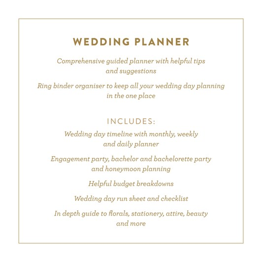 Fox & Fallow Wedding Planner
