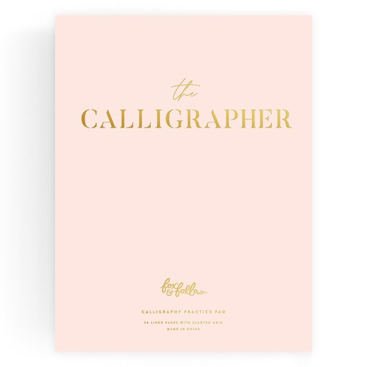 Fox & Fallow The Calligrapher Practice Pad