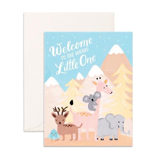 Fox & Fallow Welcome Little One Card