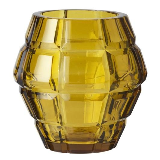 Cozy Living Fur Glass Vase