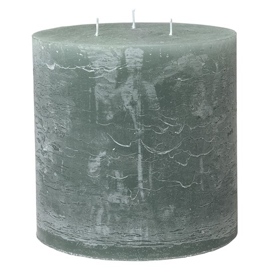 Cozy Living Rustic Candle 15X15 Moss