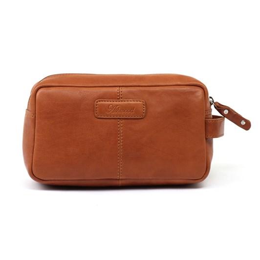 Ashwood Leather Travel Wash Bag