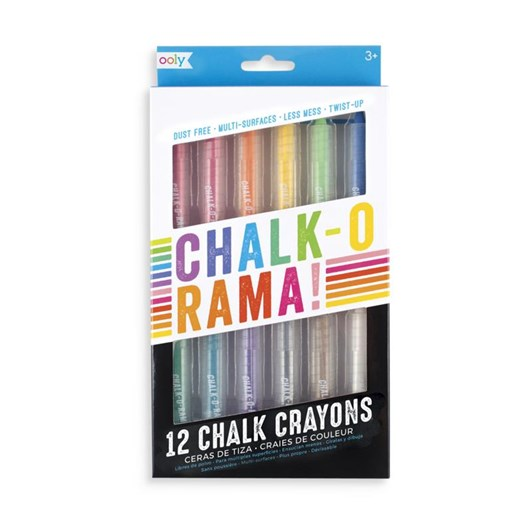 Ooly Chalk-O-Rama Pens Pack Of 12