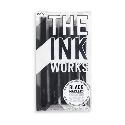 Ooly Ink Works Markers Pack Of 5 (Assorted Sizes)