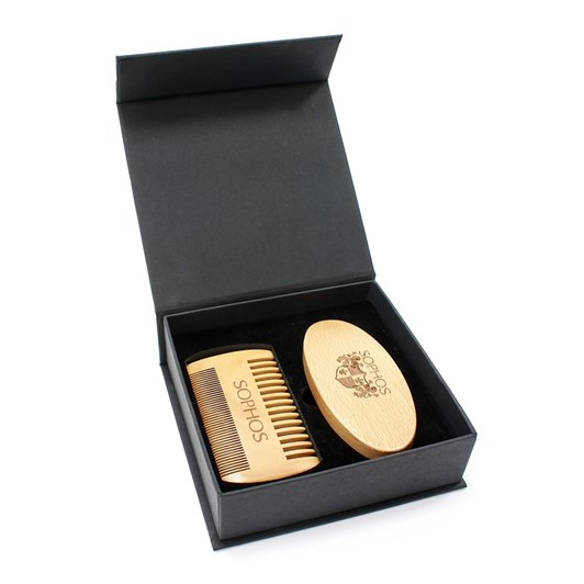 Sophos Beard Brush And Comb Set