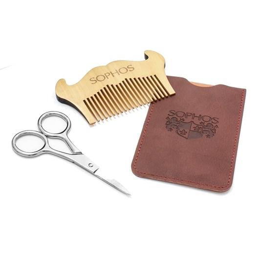 Sophos Moustache Comb And Scissors