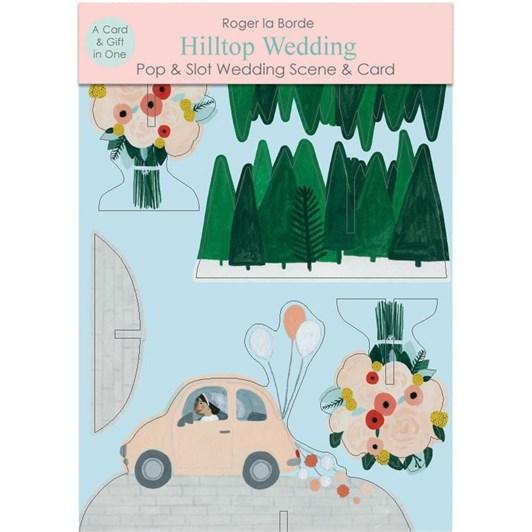 Roger La Borde Hilltop Wedding 3D Card