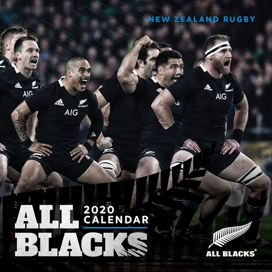 All Blacks 2020 Mini Calendar 178x178mm