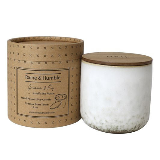 Raine & Humble Guava & Fig Candle Scented In Canister 50Hr