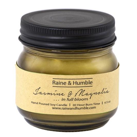 Raine & Humble Jasmine & Magnolia Candle Scented In Jar 20Hr