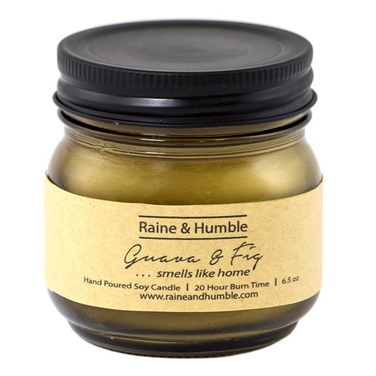 Raine & Humble Guava & Fig Candle Scented In Jar 20Hr