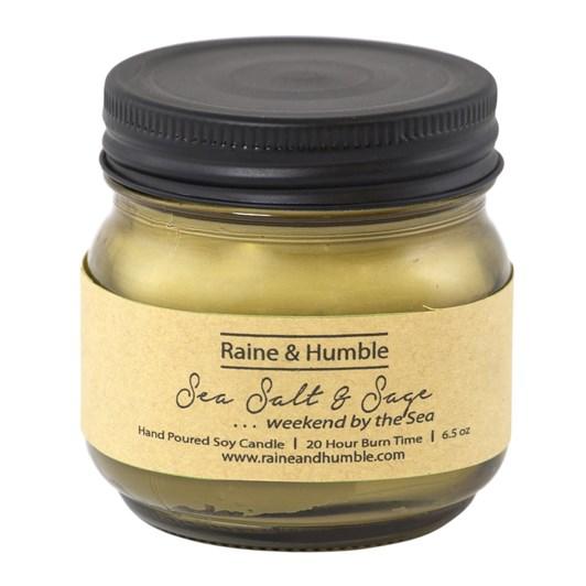 Raine & Humble Sea Salt & Sage Candle Scented In Jar 20Hr