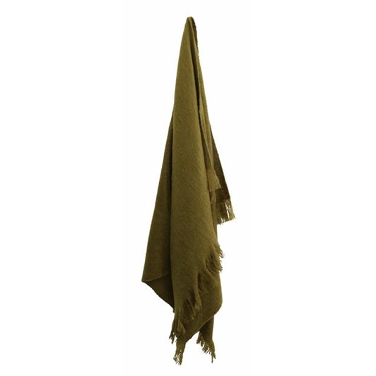 CC Interiors Olive Green Throw