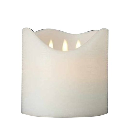 Sirius Sara Exclusive 3-Wick Candle 150x150mm White