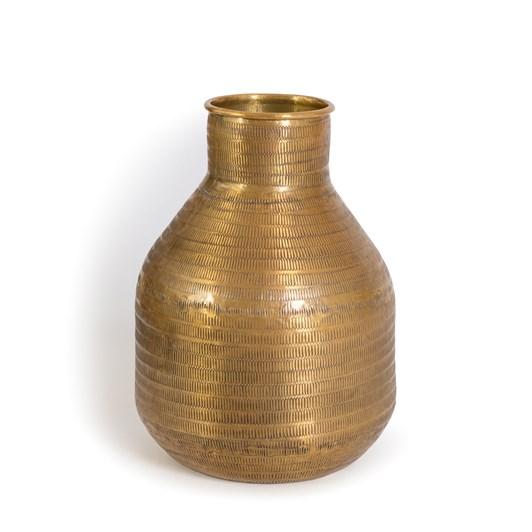 Nadee Vase Jug Lge Brass Mtl 20X28Cm